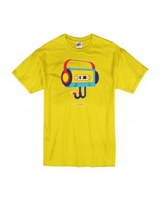 Camiseta Cassette con...