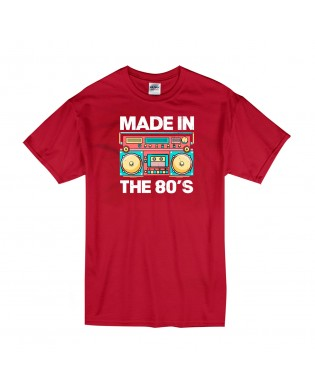 Camiseta Made in the 80's