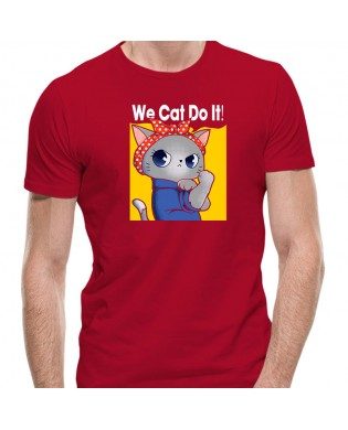 Camiseta We Cat