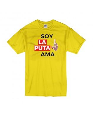 Camiseta Soy La Puta Ama
