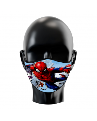 Pack 2 Mascarillas Spiderman