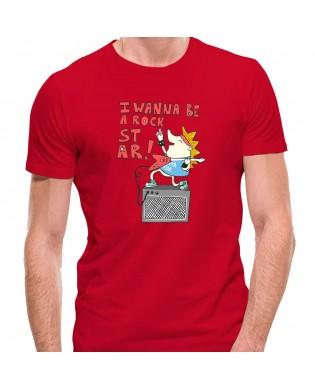 Camiseta I WANNA BE A ROCK...