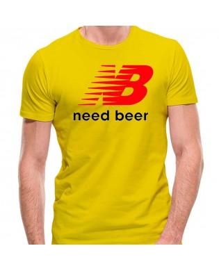 Camiseta Need Beer