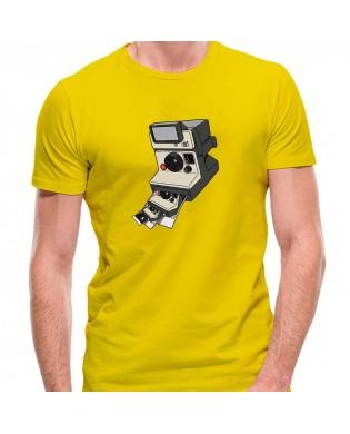 Camiseta Cámara Polaroid