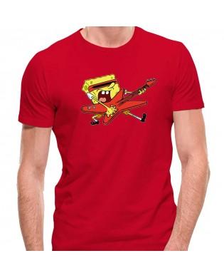 Camiseta Bob Esponja Guitar...